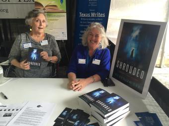 Dixie and Sue at the WLT booth at TBF Nov. 5