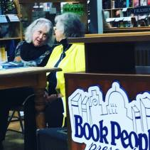 Sue and Dixie presenting at BookPeople